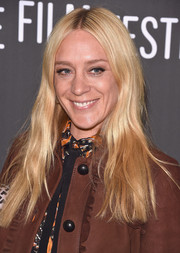 Chloe Sevigny stuck to her usual hippie hairstyle when she attended the Sundance premiere of 'Golden Exits.'