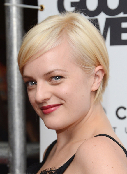More Pics of Elisabeth Moss Little Black Dress (1 of 6) - Elisabeth Moss Lookbook - StyleBistro