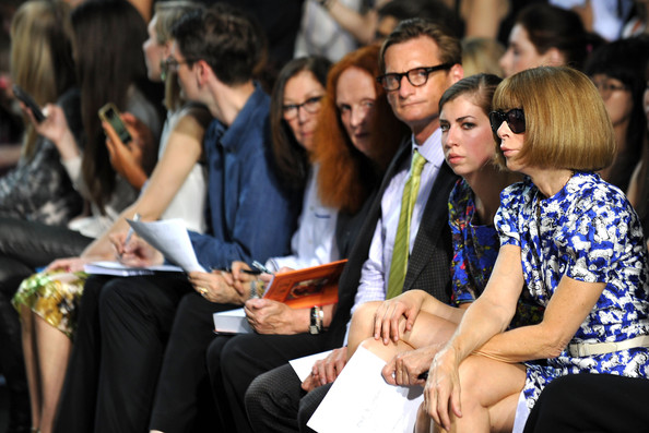 Rag & Bone Women's Collection - Front Row- Spring 2013 Mercedes-Benz Fashion Week