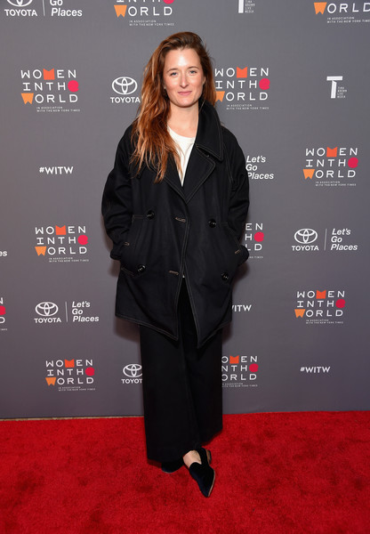 Grace Gummer Smoking Slippers [eighth annual women in the world summit,grace gummer,flooring,formal wear,carpet,outerwear,suit,fashion,coat,red carpet,tuxedo,little black dress,lincoln center for the performing arts,new york city,grace gummer,celebrity,photography,image,new york city,actor,red carpet]