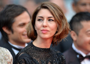 Sofia Coppola styled her short hair into a high-volume wavy 'do for the 'Grace of Monaco' premiere.