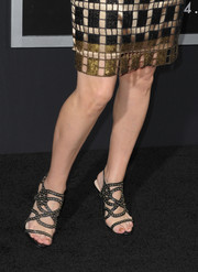 Patricia Clarkson attended the 'Gravity' premiere wearing super-sexy studded heels.