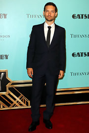 Tobey Maguire opted for a classic look at the Australia premiere of 'The Great Gatsby' when he wore this two-piece suit.