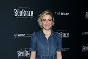 Greta Gerwig Denim Dress