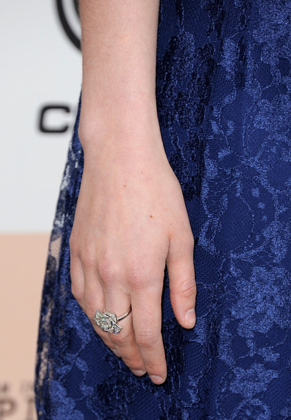 Greta Gerwig Diamond Ring