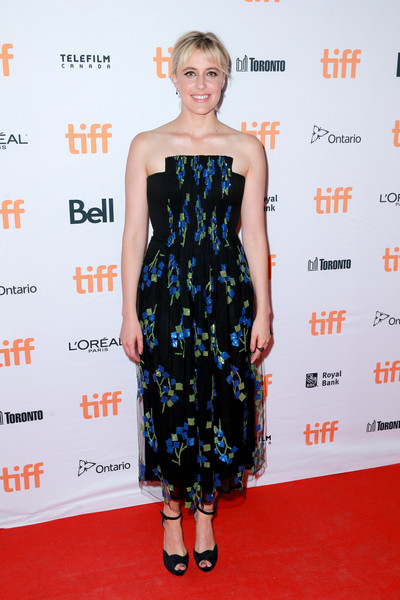 Greta Gerwig Peep Toe Pumps