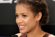 Gugu Mbatha-Raw Bobby Pinned updo