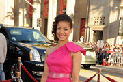 Gugu Mbatha-Raw One Shoulder Dress