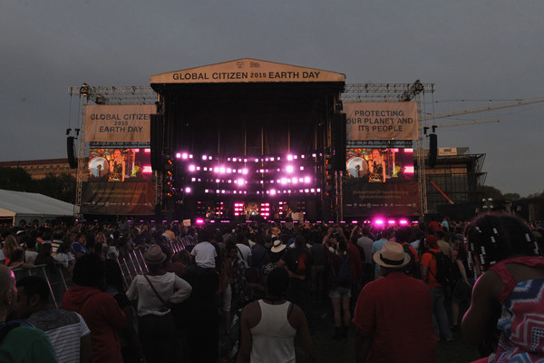 Global Citizen 2015 Earth Day On National Mall To End Extreme Poverty And Solve Climate Change - Show
