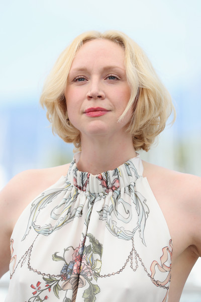 Gwendoline Christie Bob [top of the lake: china girl,hair,face,blond,white,hairstyle,lip,shoulder,skin,clothing,beauty,gwendoline christie,photocall,photocall,cannes,france,cannes film festival,palais des festivals]