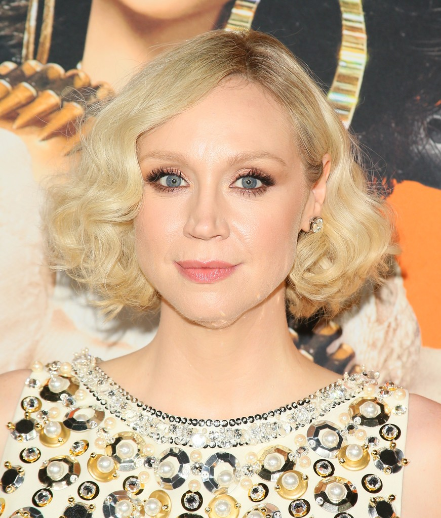 Gwendoline Christie Curled Out Bob Short Hairstyles