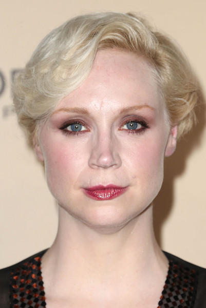 Gwendoline Christie Short Side Part [hair,face,eyebrow,lip,hairstyle,blond,chin,cheek,head,beauty,arrivals,gwendoline christie,west hollywood,california,fig olive melrose place,entertainment weekly,entertainment weekly pre-emmy party]
