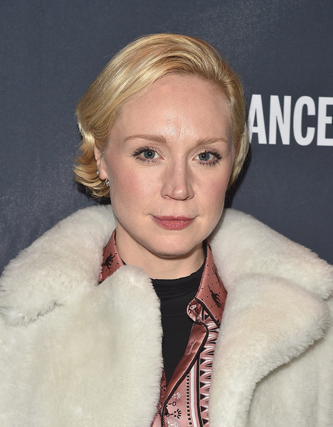 Gwendoline Christie Short Side Part [the hollywood reporter,hair,face,blond,fur,hairstyle,eyebrow,lip,fur clothing,jaw,pixie cut,reporter,gwendoline christie,sundance film festival official kickoff party - arrivals - park city,sundance film festival official kickoff party park city,hollywood,park city,utah,sundance,sundance tv hq]