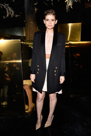 Kate Mara pulled off the baggy look with this H&M Studio boyfriend blazer during the label's fashion show.