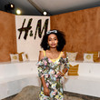 Yara Shahidi at H&M Loves Coachella Tent