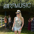 Leven Rambin at H&M's Pool Party