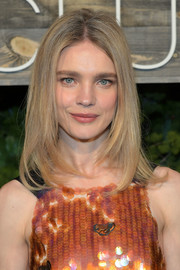 Natalia Vodianova looked trendy with her layered lob at the H&M Conscious Exclusive dinner.