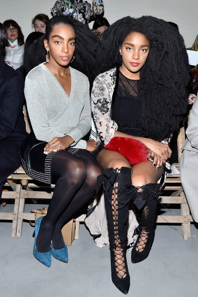 Cipriana Quann and TK Quann  at H&M Studio