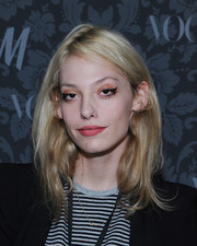 Cory Kennedy topped off her look with an edgy layered cut when she attended the H&M and Vogue Studios party.