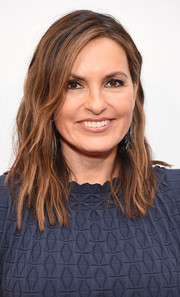 Mariska Hargitay opted for a subtly wavy, shoulder-length 'do when she attended the screening of 'I Am Evidence.'