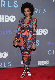 Solange can't get enough of these funky bold prints!