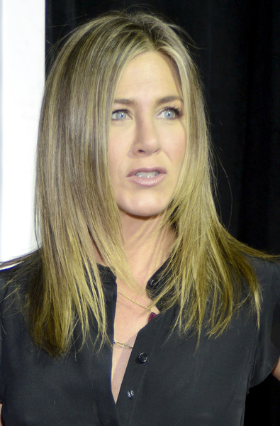 More Pics of Jennifer Aniston Jumpsuit (1 of 24) - Suits Lookbook - StyleBistro [the leftovers,season,hair,face,blond,hairstyle,layered hair,eyebrow,chin,long hair,beauty,lip,jennifer aniston,paramount theatre,austin,texas,hbo,premiere,atx television festival]