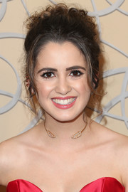 Laura Marano looked classic and demure with her pinned-up ringlets at the HBO Golden Globes after-party.