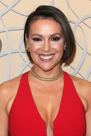 Alyssa Milano was a cutie at the HBO Golden Globes after-party wearing this neat bob.