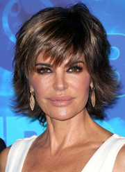 Lisa Rinna attended HBO's post-Emmy reception wearing her signature layered razor cut.