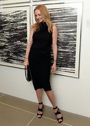 Uma Thurman chose a classic sleeveless LBD for her look at the Marriage for Equality event.