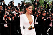 Cheryl Cole Wears Dark Berry Lipstick to Cannes Film Festival