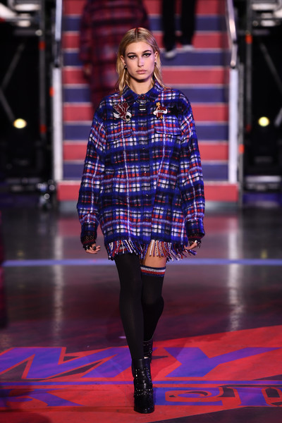 Hailey Baldwin Flannel Shirt