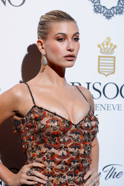 Hailey Bieber Statement Ring