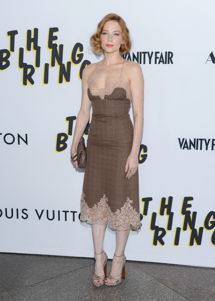 Haley Bennett Print Dress