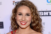 Haley Reinhart Red Lipstick
