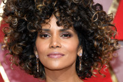 Halle Berry Afro
