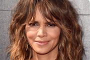 Halle Berry Medium Wavy Cut with Bangs