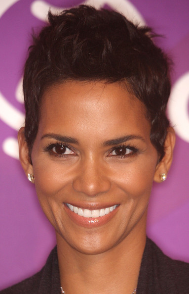 Halle Berry Fauxhawk [hair,face,eyebrow,forehead,hairstyle,chin,lip,head,beauty,cheek,halle berry,beverly hills,california,four season hotel,march of dimes 4th annual celebration of babies,march of dimes,celebration of babies]