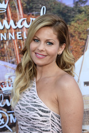 Candace Cameron Bure looked sweet with her flowing waves at the Hallmark Channel Summer TCA Press Tour.
