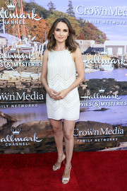 Rachael Leigh Cook looked simply lovely in a subtly beaded LWD at the Hallmark Channel Summer TCA Press Tour.