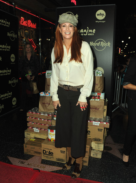 More Pics of Angie Everhart Knee High Boots (1 of 5) - Angie Everhart Lookbook - StyleBistro