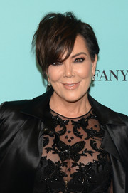 Kris Jenner was rocker-chic at the Harper's Bazaar 150th anniversary party wearing this mussed-up hairstyle.