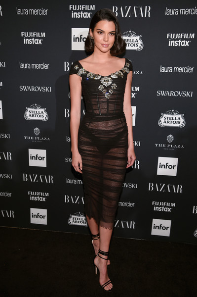 Kendall Jenner at Harper's BAZAAR'ICONS By Carine Roitfeld'