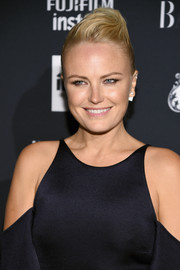 Malin Akerman looked cool with her pompadour at the Harper's Bazaar Icons event.