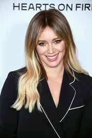 Hilary Duff framed her beautiful face with long ombre waves for the Harper's Bazaar 150 Most Fashionable Women celebration.