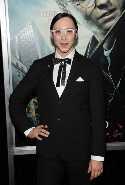 More Pics of Johnny Weir Men's Suit (4 of 5) - Johnny Weir Lookbook - StyleBistro