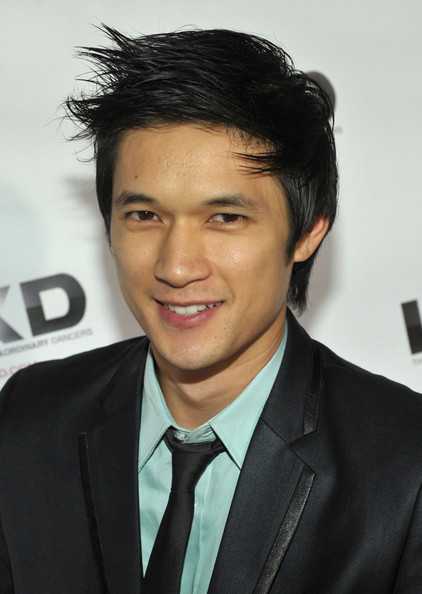Harry Shum Jr. Messy Cut [hair,forehead,hairstyle,eyebrow,white-collar worker,chin,suit,black hair,smile,tuxedo,harry shum jr.,roosevelt hotel,hollywood,california,lxd,party]