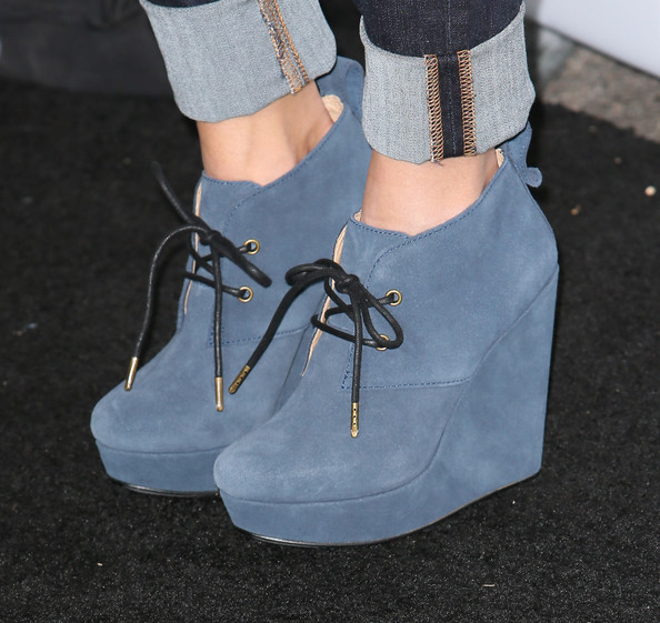 Hayden Panettiere Ankle Boots
