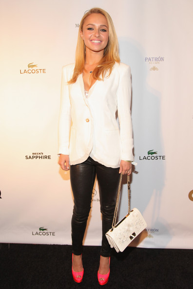 Hayden Panettiere Chain Strap Bag