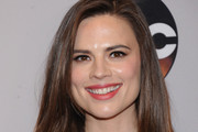Hayley Atwell Long Side Part